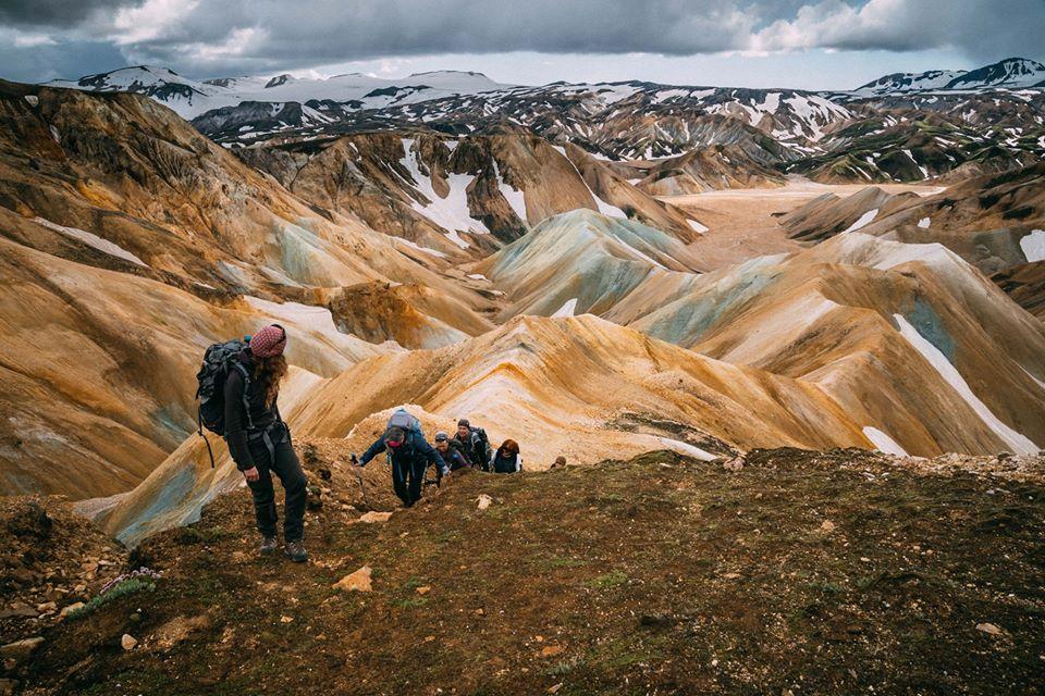 Laugavegur trail - Los Mejores trekkings de Islandia