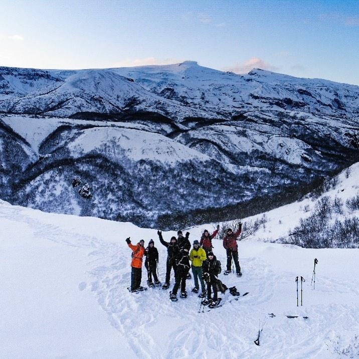 Trekking en Islandia - Thórsmörk con raquetas de nieve