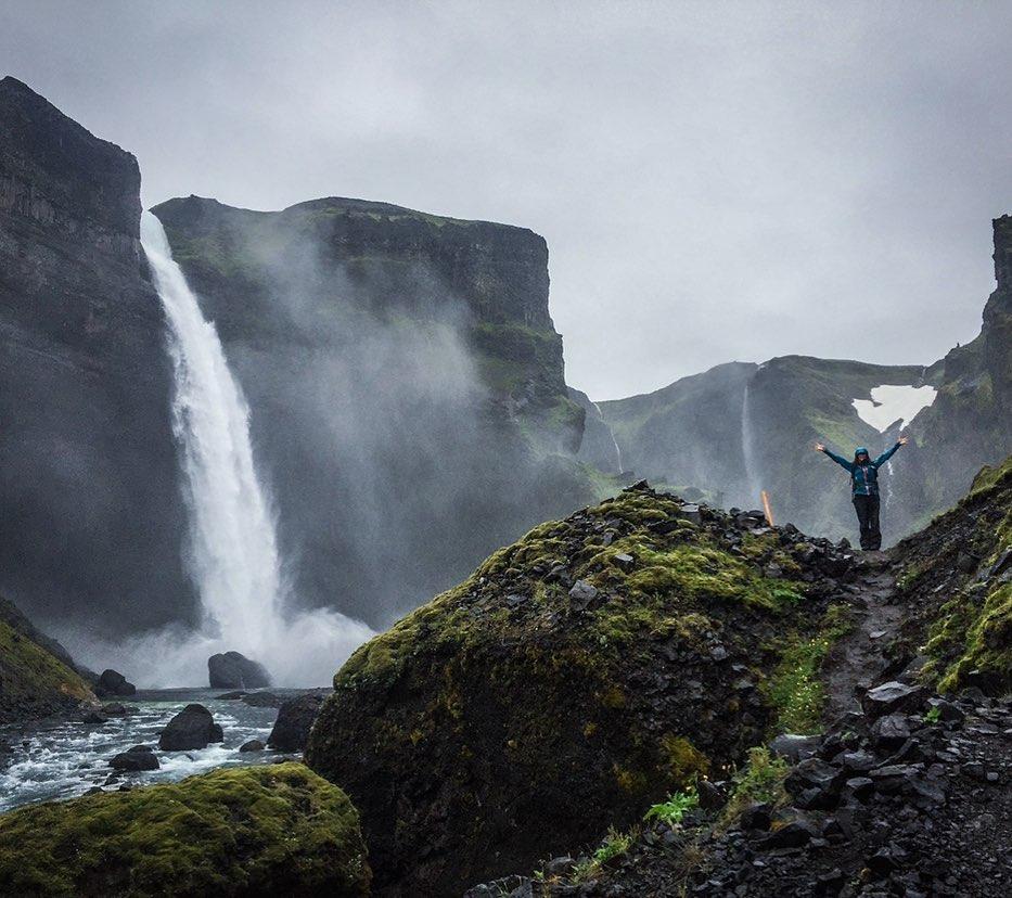 guía local islandia háifoss