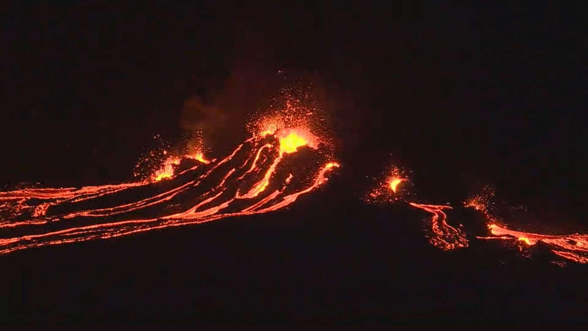 Erupción Islandia 2021 Fagradalsfjall