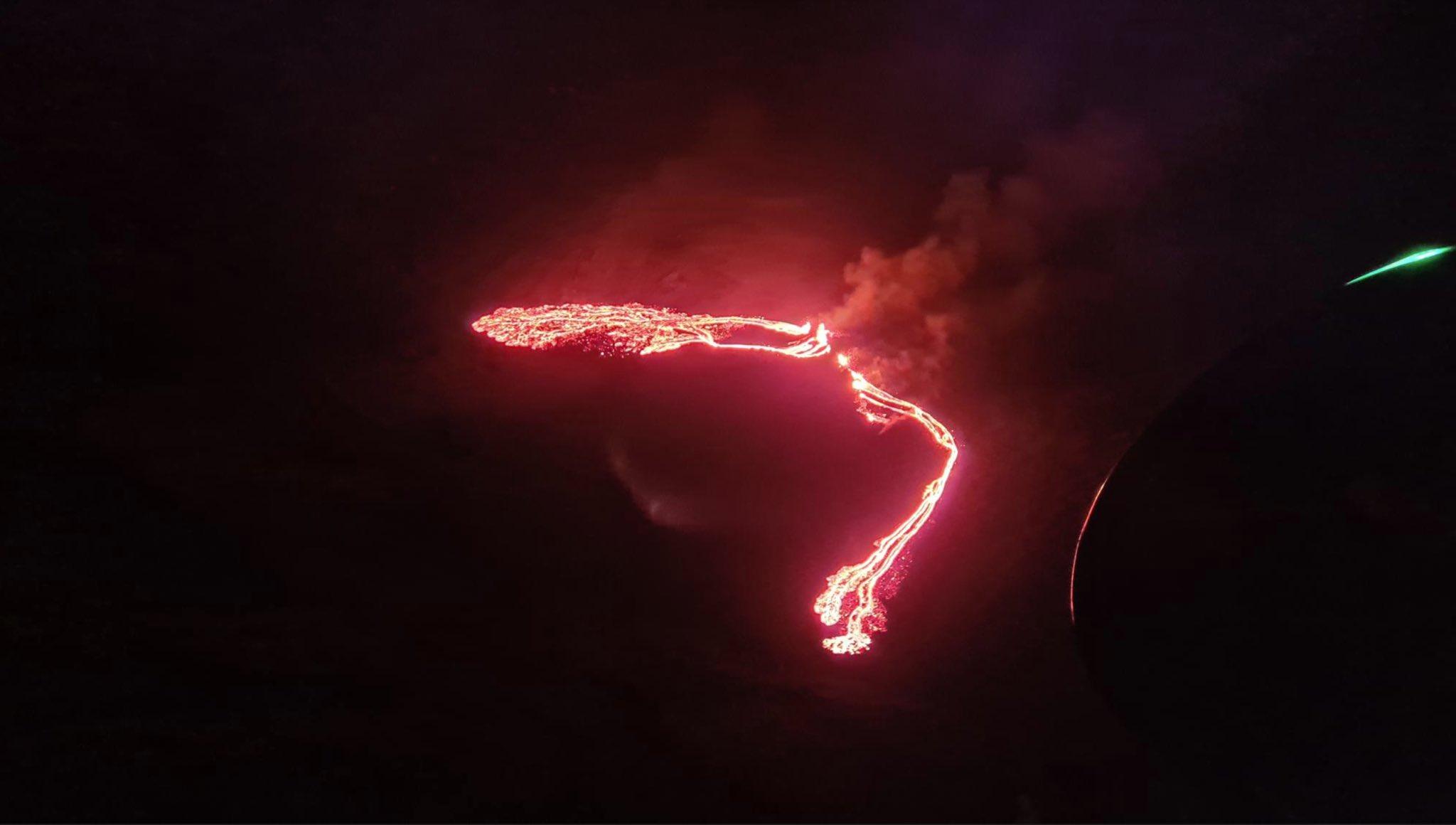 erupción islandia 2021