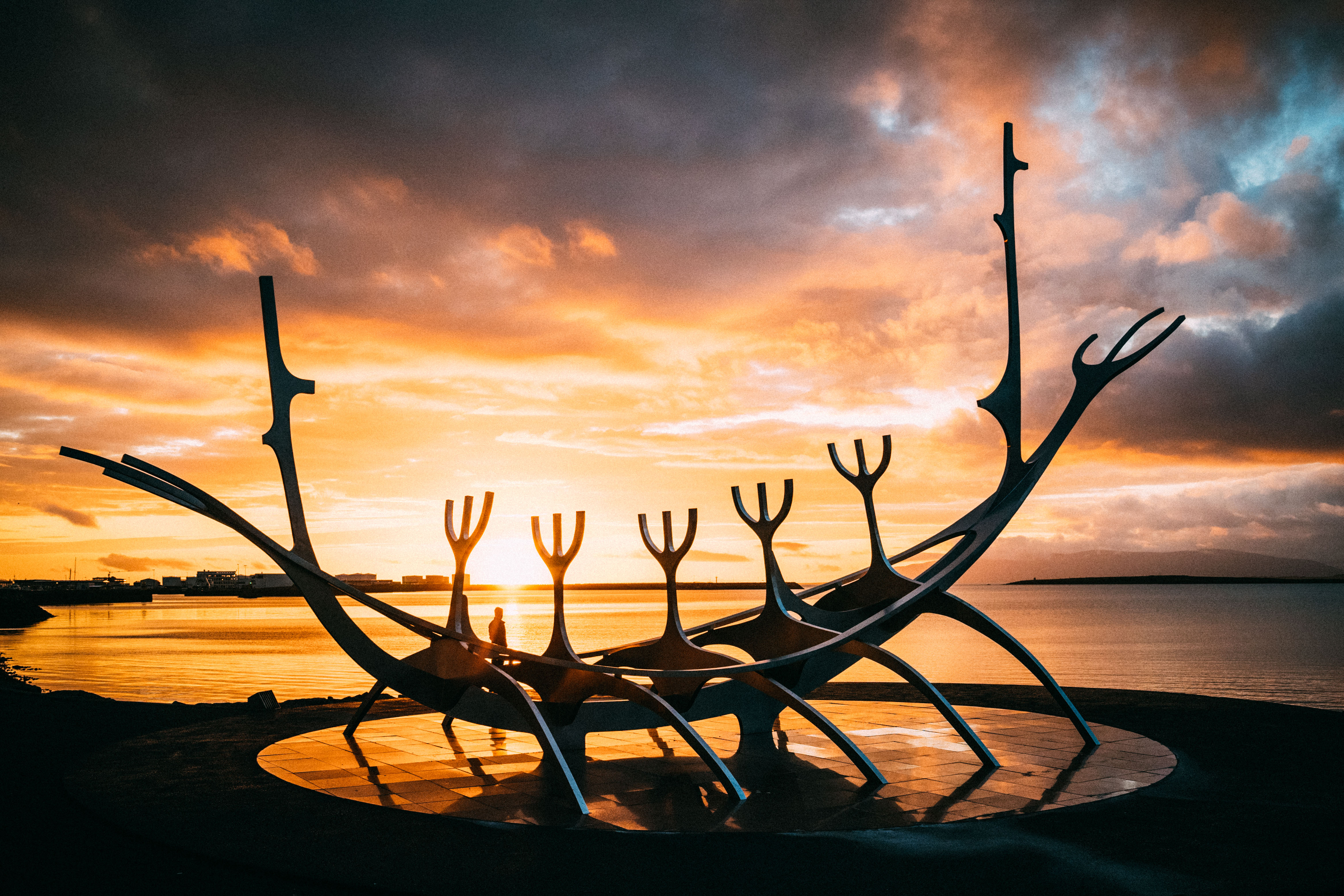 The sun voyager midnight sun